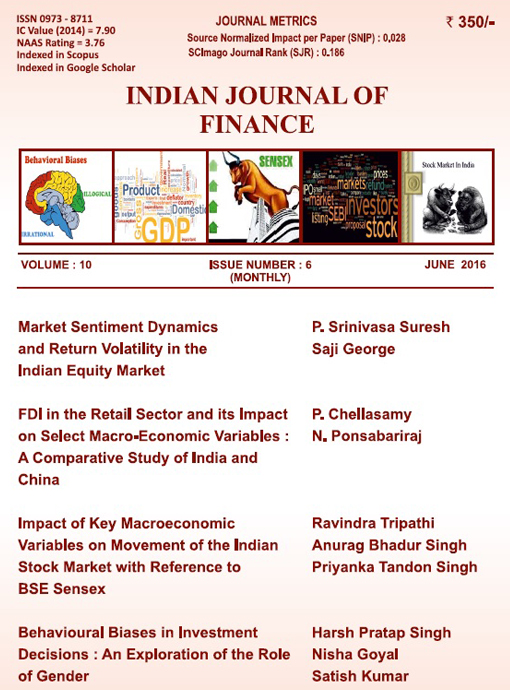 Indian Journal of Finance June